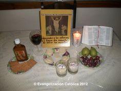 Cena segunda semana: El jardín del buen pastor. www.evangelizacioncatolica.org
