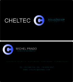 Cliente: Cheltec Produto: Criação de Logormarca e Cartão de Visita