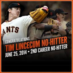 Timmy's 2nd no-hitter 6/25/14