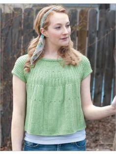 Pea Shoot Pullover | InterweaveStore.com