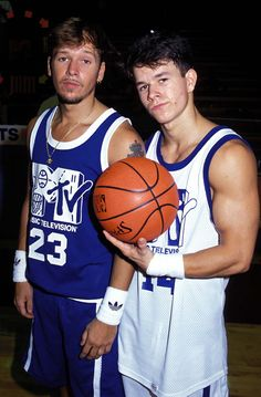 Pin for Later: A Marky Mark Tribute That Guarantees Good Vibrations Here he is at the 1991 event with his big brother Donnie. What a couple of hunks, right?