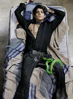 Adam Lambert's Rolling Stone cover photo | Source: http://www.rollingstone.com/music/news/adam-lamberts-rolling-stone-cover-shoot-the-photos-20090611