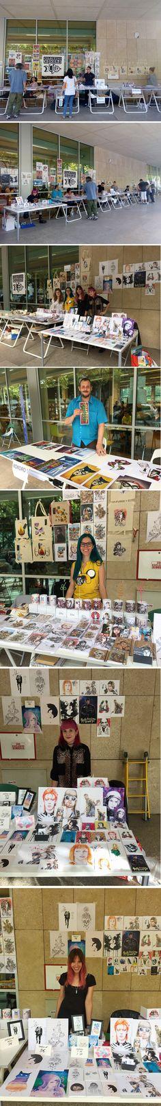 Blanca Lemus En El Primer Festival De La Caricatura Y El Retrato