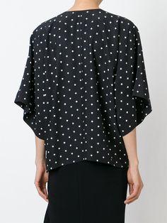 Givenchy Chemisier À Croix Imprimées - O' - Farfetch.com