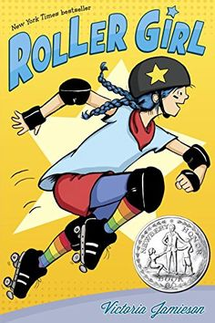Roller Girl, 2015 The New York Times Best Sellers Paperback Graphic Books winner, Victoria Jamieson #NYTime #GoodReads #Books
