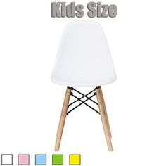 Shop for 2xhome - Kids Size - Eames Style Side Chair - Natural Wooden Legs - High Quality Childrens Chair - Kids Armless Chair. Get free delivery at Overstock.com - Your Online Furniture Outlet Store! Get 5% in rewards with Club O!