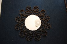 Un rincón para tus muebles: DIY---Hacer un espejo con rollos de papel higienico