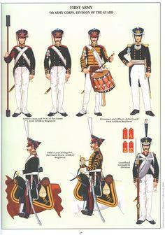 Наполеоновские войны № 13. Тамбурмажор полка пеших егерей Старой гвардии, 1808-1810 гг.