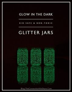 Mason Jar Craft Glow in the Dark Party Craft Ideas