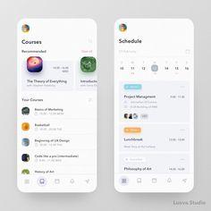 Web Design, App Ui Design, User Interface Design, Media Design, Graphic Design, Android App Design, Android Apps, Android Tricks, Schedule Design