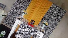 Colore Colorê: Zebra com amarelo pocket
