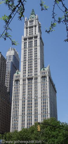Woolworth Building, New York 1913 / Cass Gilbert