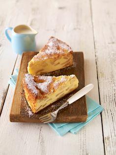 Apfeltorte mit Grieß: Ein saftiger Apfelkuchen mit Quark zum Geburtstag oder anderen Festen