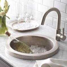 Cool Sinks | Tags : Bar Sink Faucets , Undermount Bar Sinks , Wet Bar Sink  | 2. Objects | Pinterest | Bar Sinks, Wet Bar Sink And Sinks