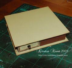 Tutorial - Caja con  4 cajones