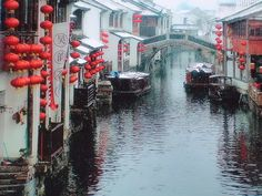Suzhou, China - The Venice of the East.  One of the cities my daughter and I are visiting on our trip in March!
