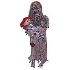 Zombie Girl Prop ** Check out the image by visiting the link.Note:It is affiliate link to Amazon. #smile