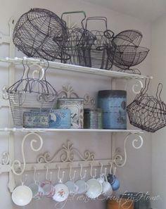 I love French egg baskets!
