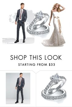 """""""Senza titolo #108"""" by mariapizzuto on Polyvore featuring Maggie Sottero, ASOS e Bling Jewelry"""