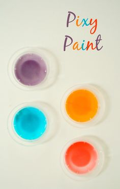 Pixy Paint...2 ingredient scented paint recipe