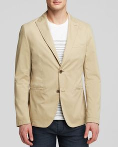 Boss Hugo Boss T-Nandoz Overdyed Broken Twill Sport Coat - Regular Fit - Bloomingdale's Exclusive