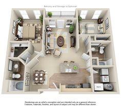 Beau TGM Creekside Village Apartments | Real Estate Investment Advisers TGM  Associates   Floorplans