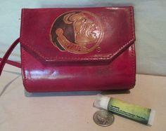 Leather Handbag Vintage Small Cross Body Bag by HobbitHouse
