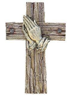 Praying Hands Cross - Wallcrossesandmore