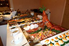 Fischbuffet #hotelbrigitte #fisch #buffet #aschermittwoch #dinner #fish #gourmet #ischgl  www.hotel-brigitte-ischgl.at