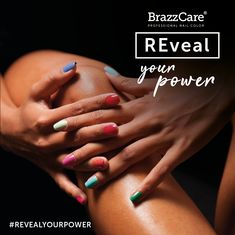brazzcare_official Reveal the beauty and health of your skin with BrazzCare's emollient cream and the power of the color! Hydration and care while manicuring Aesthetic Beauty, Pedicure, Your Skin, Nail Colors, The Cure, Gloves, Nail Polish, Socks, Hands