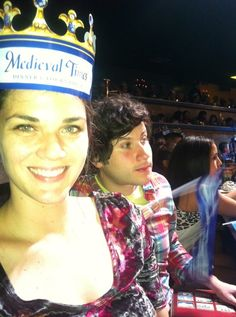 A Drunk Girl and a High Guy review Medieval Times