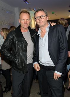 Sting and Thierry Gillier