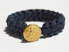 Love these bracelets! They have one for each branch of the military! And all proceeds support our troops and empower Afghan Women! They are made out of military grade parachute cord and uniform buttons!