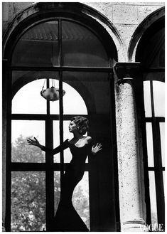 Vogue Italia, September 1991 Christy Turlington. Photo Steven Meisel