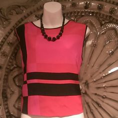 Beautiful Peter nygard silk top Beautiful bold colors only worn once Tops