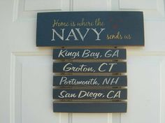 home is where the Navy sends us----One day we'll end up at one of the places on this list besides King Bay, GA......