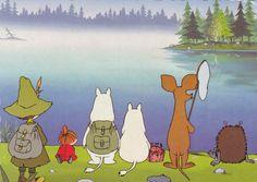 Moomin Wallpaper, Fairy Wallpaper, Cute Wallpaper Backgrounds, Cute Wallpapers, Pretty Art, Cute Art, Moomin Cartoon, Moomin Valley, Troll Party