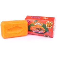 Asantee Thai Papaya Herbal Skin Whitening Soap 135g - http://best-anti-aging-products.co.uk/product/asantee-thai-papaya-herbal-skin-whitening-soap-135g/