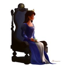 Rapunzel's Mother by thefenrir.deviantart.com on @deviantART