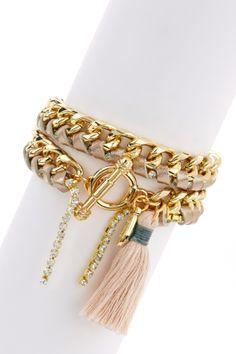 Wrapped In Love Bracelet.