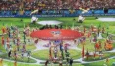 INAUGURACIÓN DEL MUNDIAL DE FÚTBOL RUSIA 2018