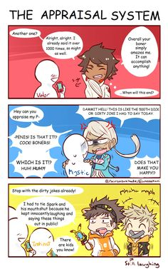 Credits to original artist p1 (poor team leaders... I'd be Blanche tho)