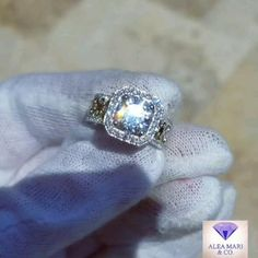 Custom created 2 tone 18kt Yellow and White Gold Wedding Ring with 2ct Round Brilliant True Light Moissanite, nearly 2cts Diamonds Diamond Alternatives, White Gold Wedding Rings, Custom Jewelry Design, Moissanite, Diamond Engagement Rings, Etsy Seller, Diamonds, Crystals, Yellow