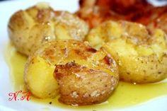 Картофель,замеченный по португальски