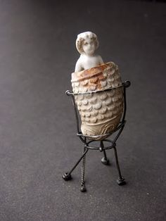 """Lucy Elsie Harvey, """"Mr Soane is Not at Home"""" Found Object Jewelry, Found Object Art, Mixed Media Sculpture, Sculpture Art, Small Sculptures, Wire Sculptures, Wire Art, Box Art, Antique Dolls"""