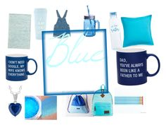 Blue 💙💙💙💙 by alishathefunnybunny on Polyvore featuring beauty, Dickies, Monki, About Face Designs, Southern Tide, ban.do and Fitz & Floyd