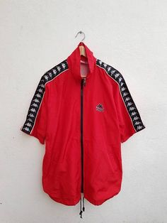 Vintage 90s KAPPA Sportswear Big Logo Embroidered Spell Out