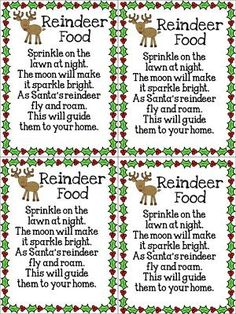 Reindeer Food by daphne