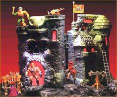 He-Man & castle Grey Skull!