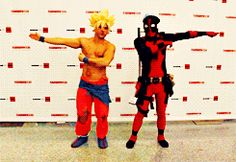 Tumblr Deadpool fuuuu-siooooonnnn hah!